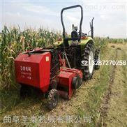 站立玉米秸秆粉碎收获打捆机