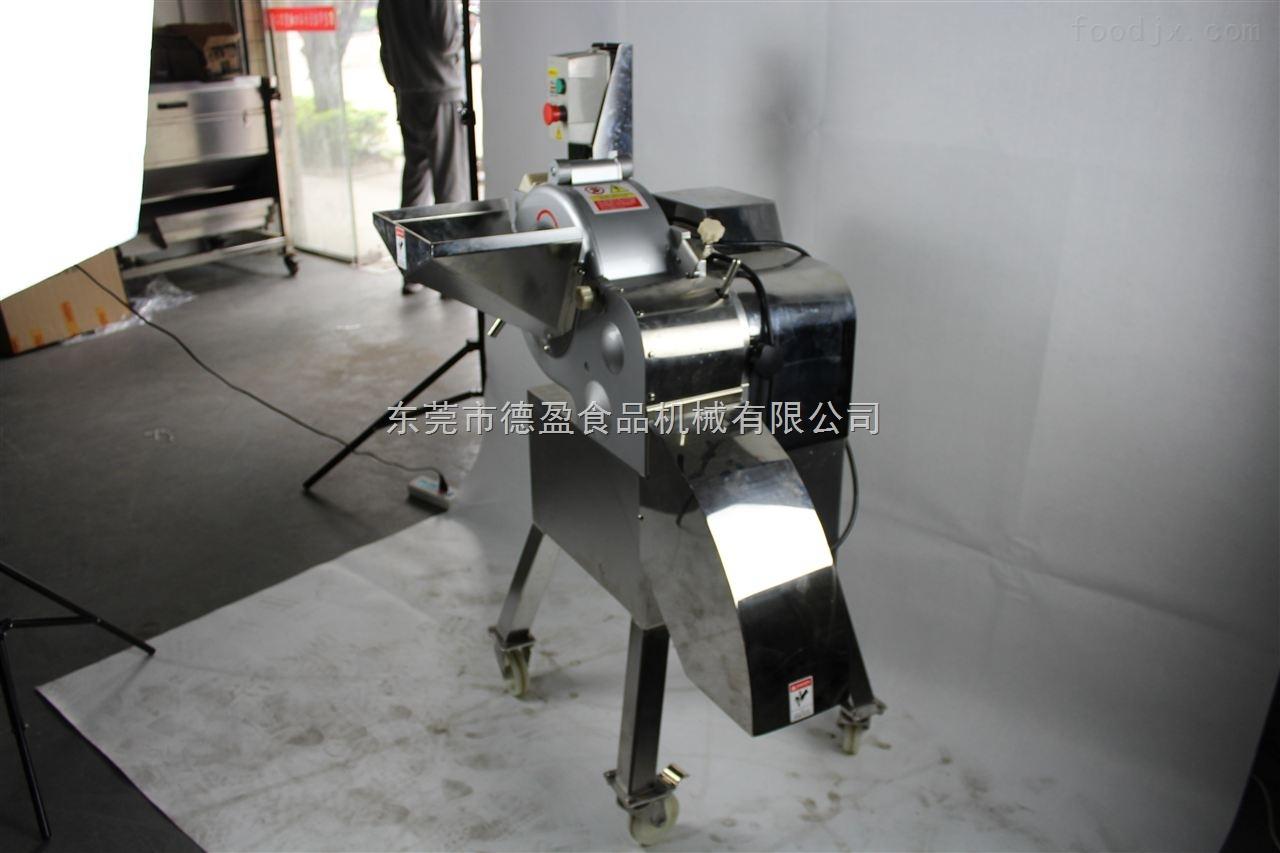 DY-800-东莞德盈三维胡萝卜切丁切条机