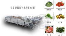迪凯供应蔬菜气泡清洗流水线设备