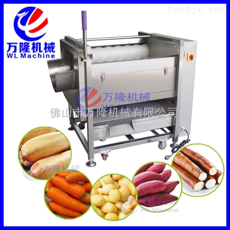马铃薯土豆脱皮机 土豆去皮机削皮机