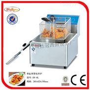 台式单缸单筛电炸炉/油炸锅