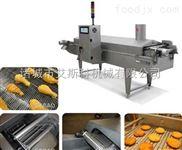 锅巴全自动生产线/面食制品专用油炸设备/定制油炸设备 油炸香蕉片加工设备
