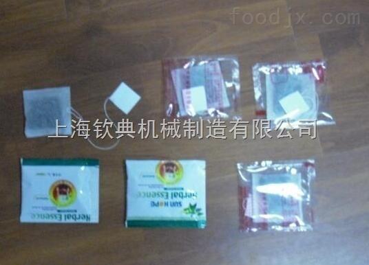 龙井袋泡茶自动袋泡茶带线兼标签包装机