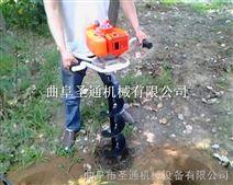 手提式植树挖坑机 搭架立柱钻眼机