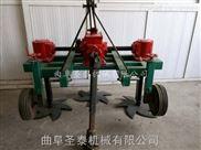 拖拉机带大蒜联合收割机 刨蒜机厂家