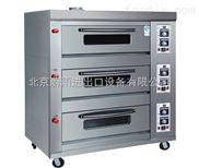 北京蜂蜜小面包烤箱|麦多馅饼烤箱厂家|三层六盘燃气烤箱