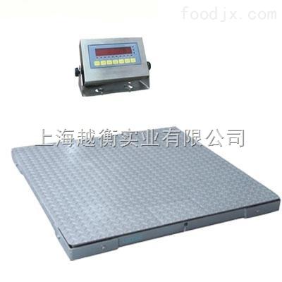 单层不锈钢电子地磅 3吨不锈钢地磅价钱