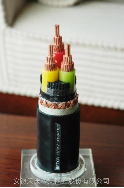 ZR-BPYGCRP-0.6/1KV-3*10+3*1.5变频电缆