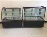 衡水蛋糕展示柜 弧面食品保鲜柜 欧式玻璃门蛋糕柜