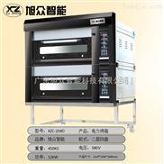 旭众电烤箱2层4盘面包烤箱大型面包房设备