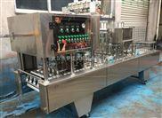 武漢伊佳諾飲料杯裝綠豆沙冰灌裝封口機包裝設備