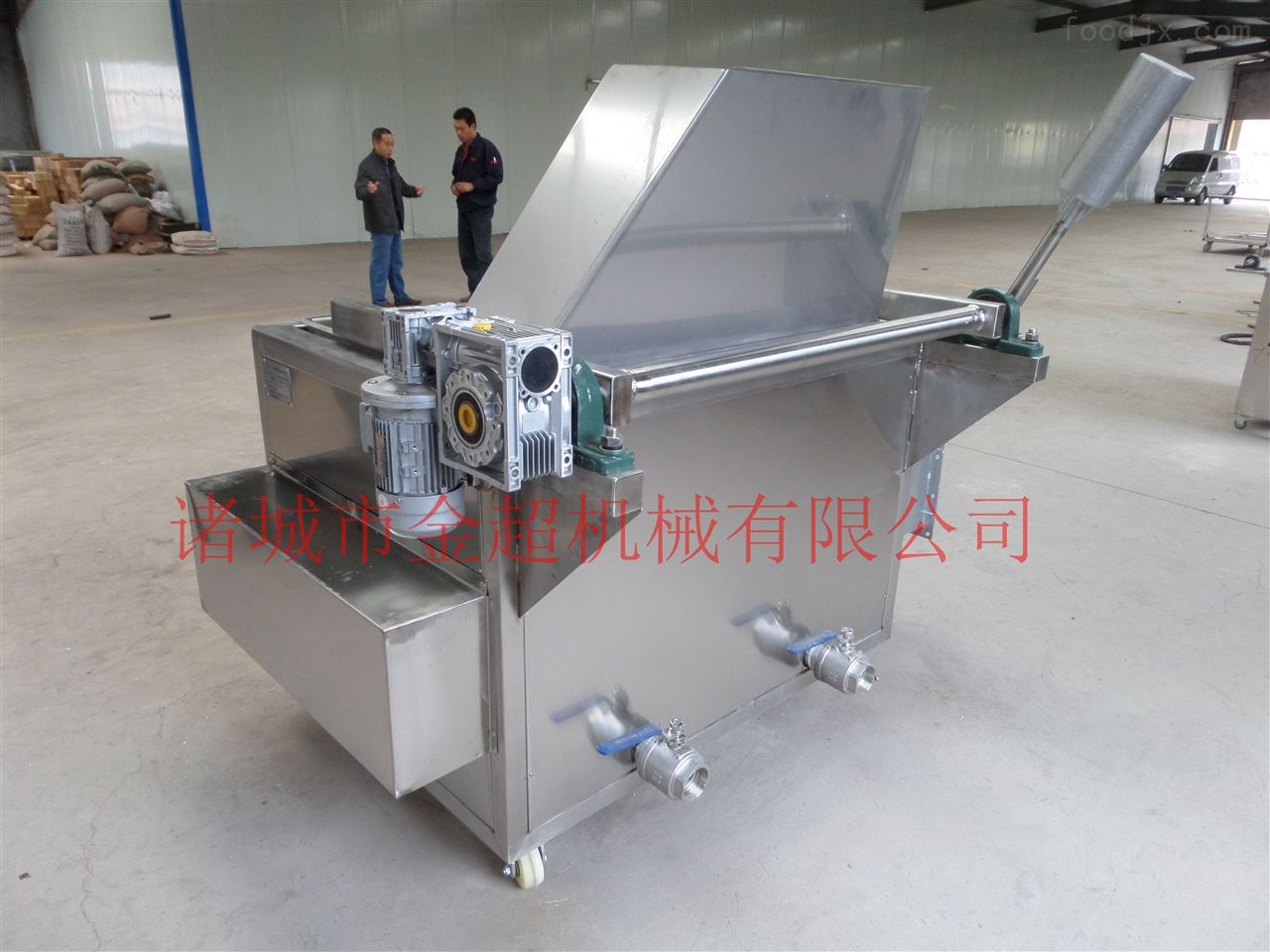 电加热油炸机生产厂家
