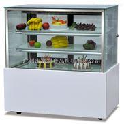 富祺日式三层大理石直角蛋糕展示柜面包冷藏柜寿司慕斯保鲜柜
