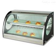 富祺商用 加热蛋挞蛋糕面包展示保温陈列柜