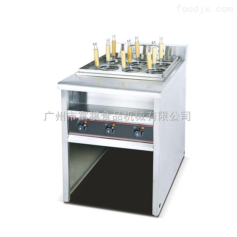 立式喷流式电热煮面炉(6筛)