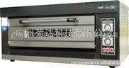 厂家直销1层2盘电热烤炉 单层两盘电烤箱 家用烤箱