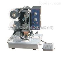 漯河色带打码机生产厂家*济南鑫儒奕机械*生产日期打码机