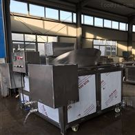 SZ1200环保型自动搅拌自动出料豆泡油炸机