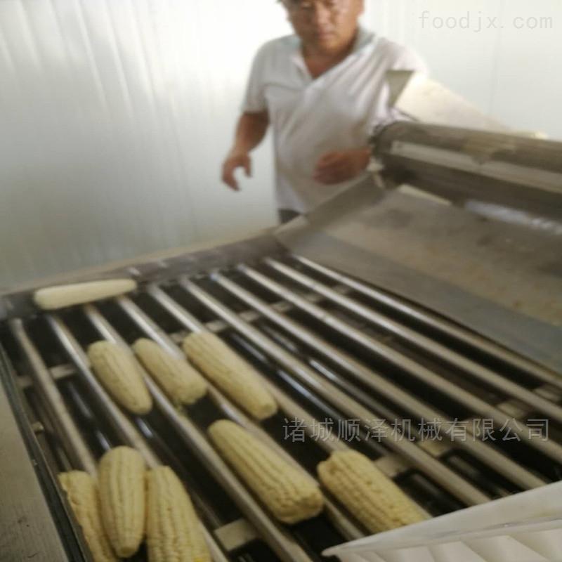 甜玉米蒸煮加工设备 玉米加工流水线