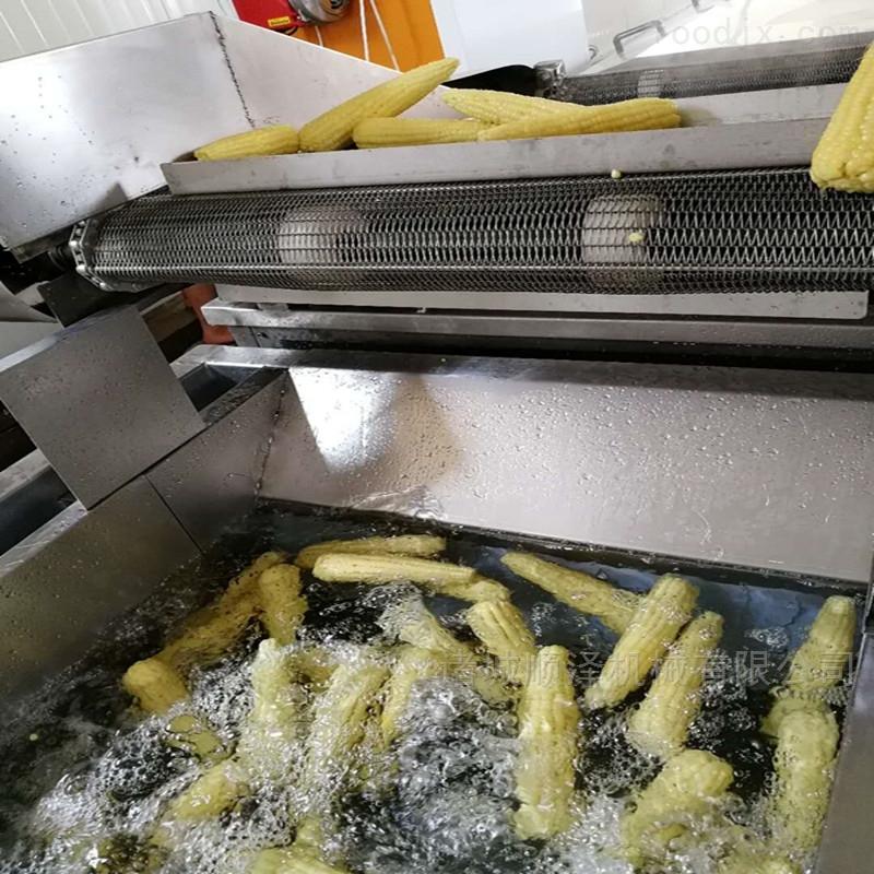 全自动玉米清洗流水线