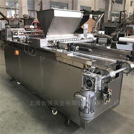 HQ-DG600实地工厂 9孔蛋糕成型机 PLC蛋糕挤出机
