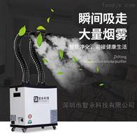 A021激光机烟尘除尘设备 多工位烟味净化器