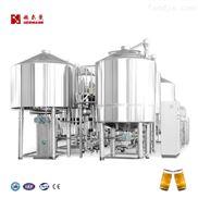 山東赫爾曼啤酒設備HEM-D麥芽糖化系統
