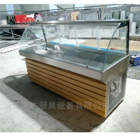 不锈钢超市面食展示柜
