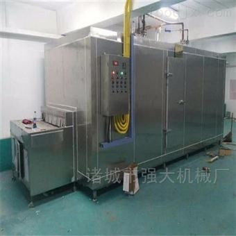 QD-6-1.25隧道式低温速冻流水线 秋葵速冻加工设备