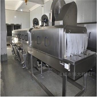 3500供应不锈钢洗筐机 牛肉筐清洗机