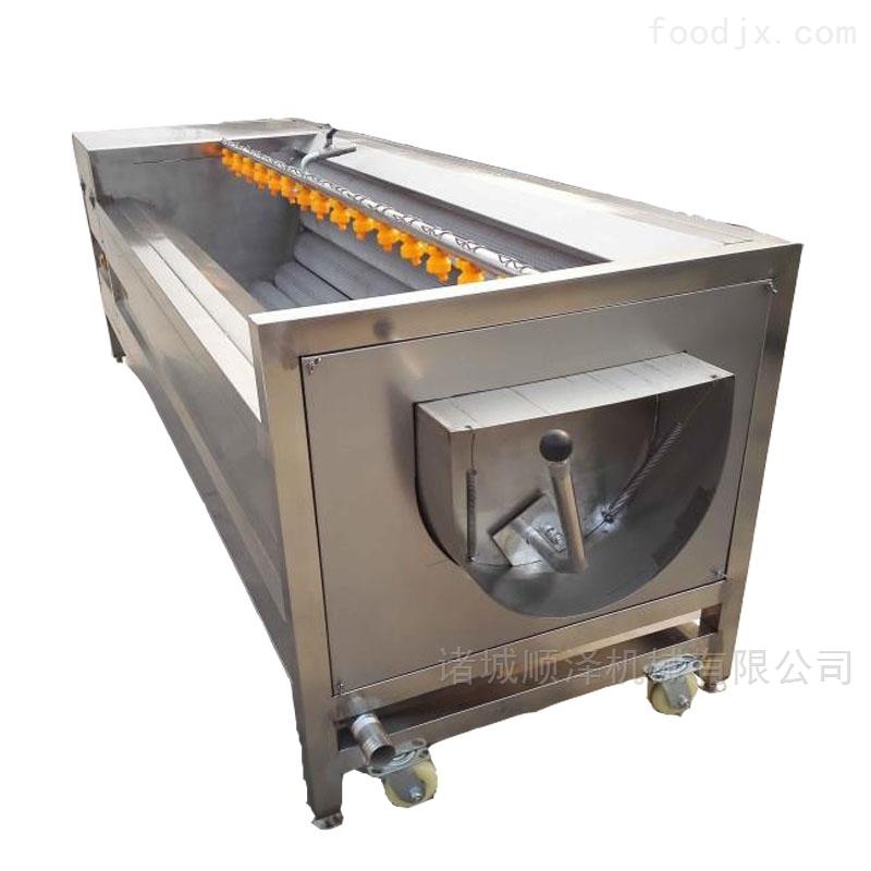 专业供应莲藕清洗去皮机 藕带加工设备