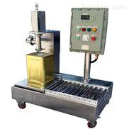 供应优质油类灌装机、四头半自动称重式灌装