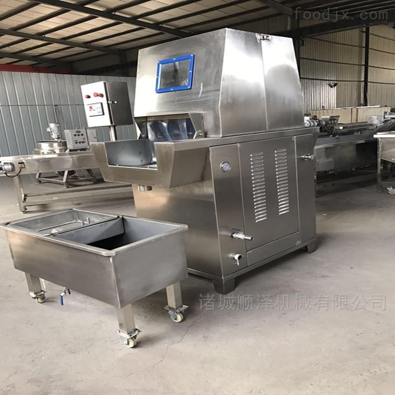 全自动牛肉盐水注射机 牛排入味注射设备