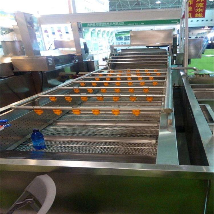 不锈钢净菜加工设备果蔬清洗机