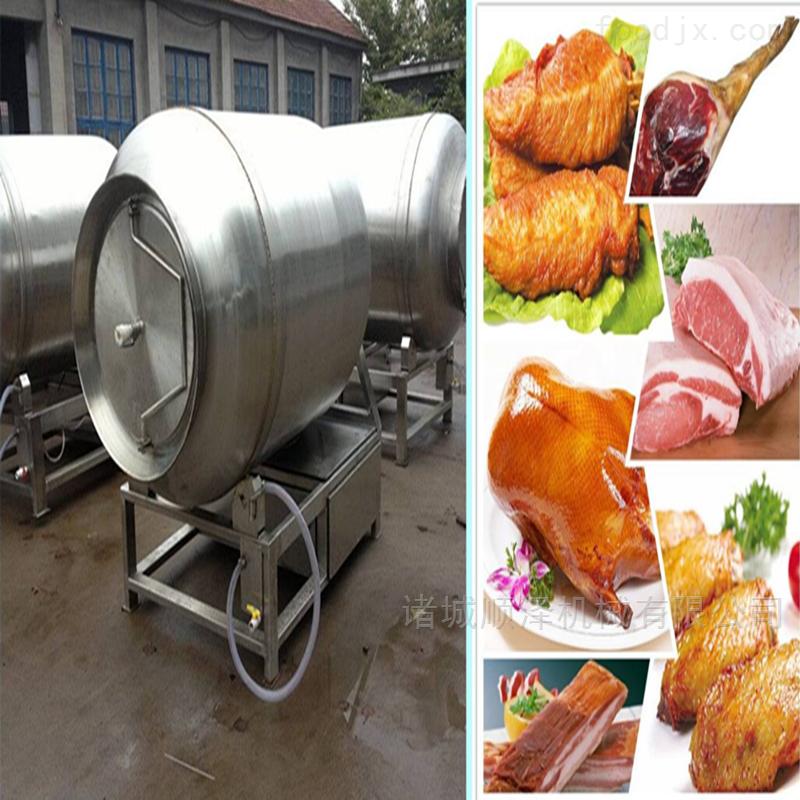 鸡产品腌制滚揉机、鱼类腌制设备
