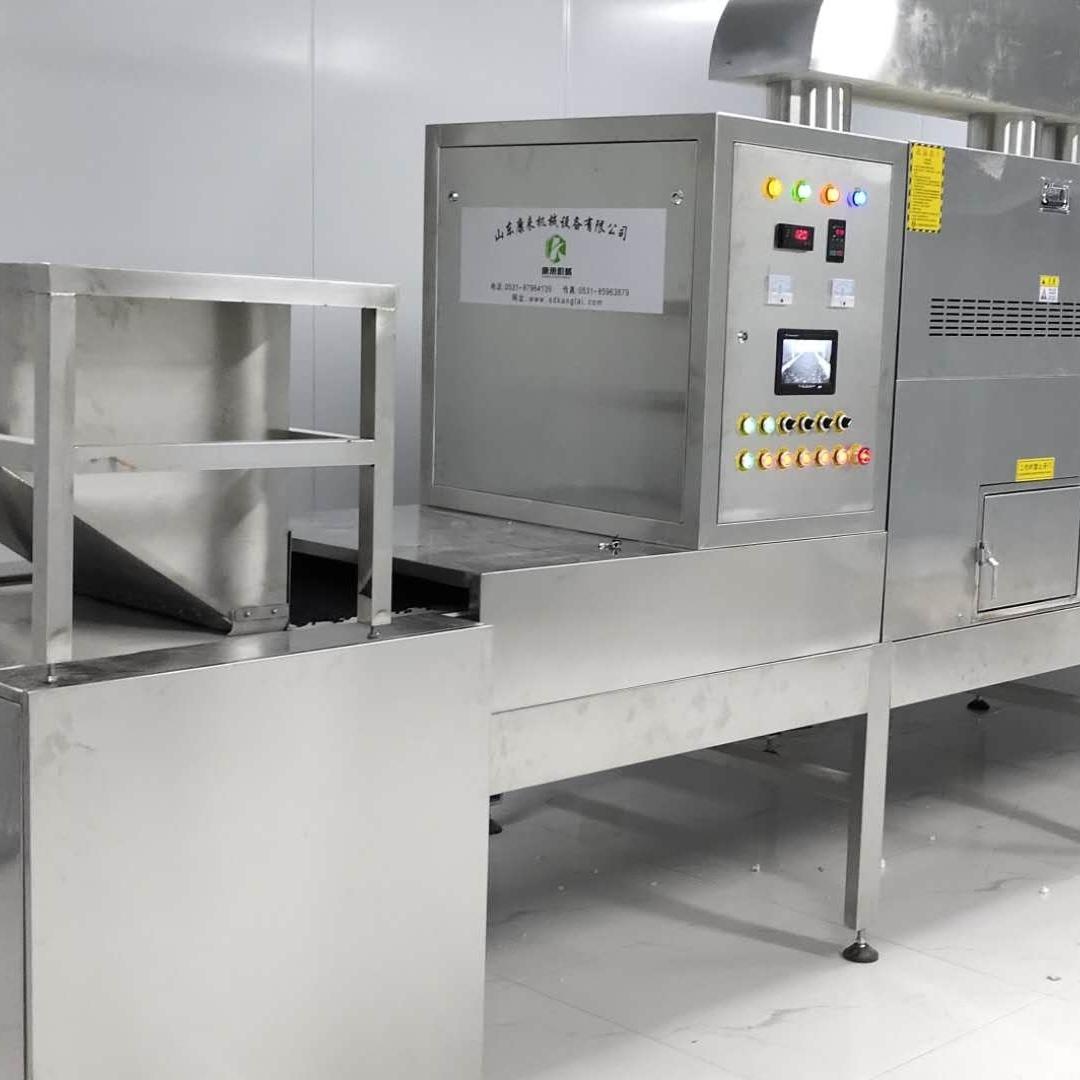 瓜子烘焙熟化采用微波烘烤设备的优势