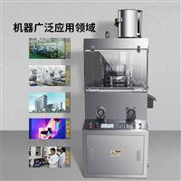 ZP-19广东江门三七薏米粉沫大产量旋转式压片机