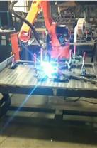 鞍山学生公寓床、围栏焊接机器人