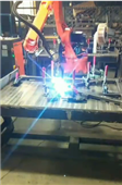 鞍山學生公寓床、圍欄焊接機器人