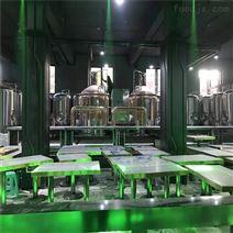 天津500升精釀啤酒設備 釀酒機械