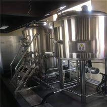 河南2000升啤酒设备 酿酒机器