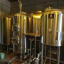 深圳500升自釀啤酒設備 釀酒機械