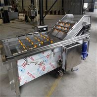 QX-500净菜加工流水线~气泡喷淋清洗机