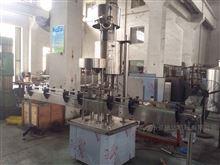 全自动牛奶灌装铝箔封口旋盖机
