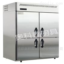 成都商用廚房設備 四門冰柜