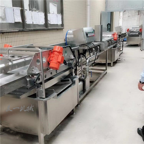 不銹鋼全自動凈菜加工設備