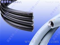 平包塑镀锌钢金属软管,平滑包塑不锈钢软管