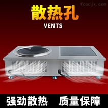 顺德顺芯科组合商用电磁炉3.5KW5K功率炒锅