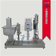 山东称重式半自动液体灌装机定量自动灌装