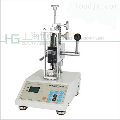 测试弹簧拉压力仪器_数显弹簧压力计_500N数字弹簧拉力仪